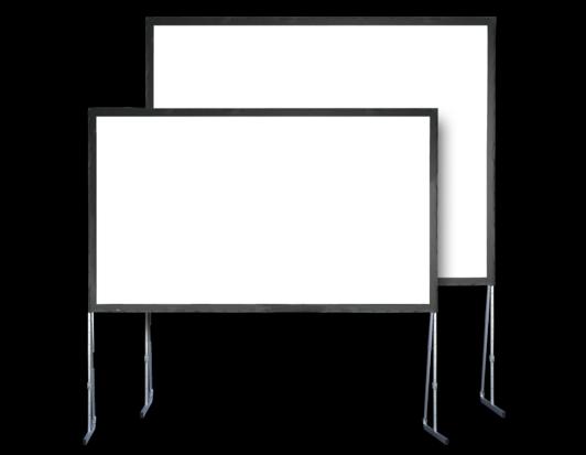 Stumpfl Leinwand Vario Rahmenleinwand mobil