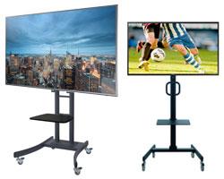 TV Screen Display Flatscreen mieten WM 2018