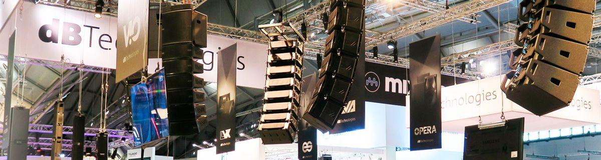 Audio-Systeme Audio db technologies, HK Audio Schweiz