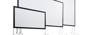 Leinwand Rahmenleinwand mobil Fastfold Monoblox Vario Stumpfl