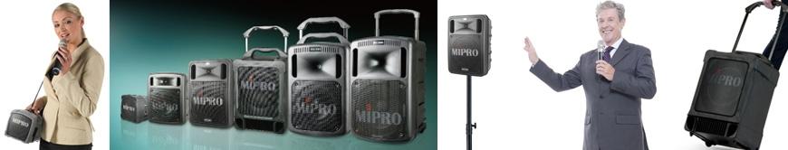 Mobile Beschallung PA Lautsprecher portable Akku Mikrofon