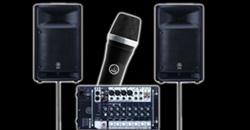 Audio Beschallung mieten Vermietung