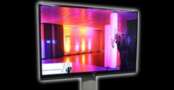 Flatscreen Display Flachbildschirm Flatscreen TV Monitor mieten