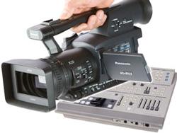 Videokamera Videomixer Videotechnik mieten Vermietung